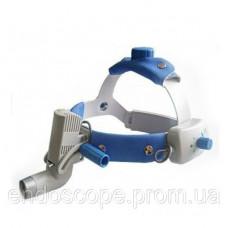 Світлодіодний освітлювач HL8000C (3W) налобний в алюмінієвому кейсі