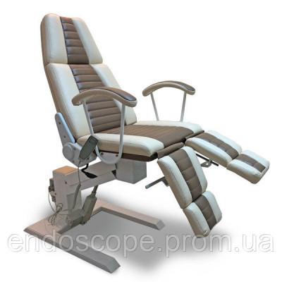 Педикюрно-косметологічне крісло КП-3РЭ (регулювання висоти електрична)
