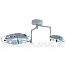 Світильник операційний L2000 6+3-II девятирефлекторный стельовий (два блоки, 6+3)