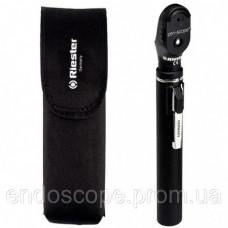 Офтальмоскоп e-scope®, пряме освітлення, вакуум 2,7, чорний, в сумочці