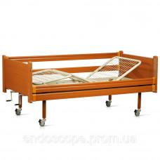Ліжко дерев'яна функціональна трисекційна OSD-94