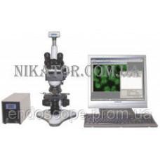 Бинокулярный биологический микроскоп MCX100 CROCUS с интегрированной видеокамерой