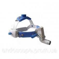 Світлодіодний освітлювач HL8000A (3W) налобний
